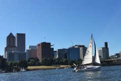 Booking (trips, stays, etc.): 90 minute Portland Sailing Tour for two