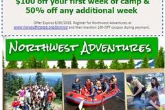Booking (trips, etc.): Northwest Adventures Summer Camp