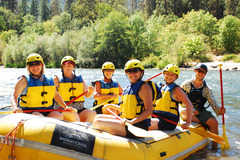 Booking (trips, etc.): Rogue River Half-Day Rafting Trip