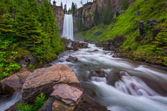 Varies/Learn More: Tumalo Falls Hike