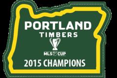 Selling: Timbers Champion Sticker