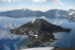 Booking (trips, etc.): Wizard Island and Crater Lake Boat Tours