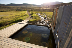 Varies/Learn More: Soak in the Alvord Hot Springs