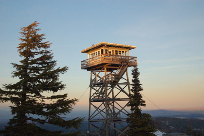 Image result for mount hood forest lookouts