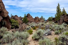 Free: Hiking Flatiron Rock Trail: Oregon Badlands Wilderness