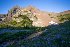 Free: Three Fingered Jack Peak: Canyon Creek Meadows