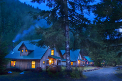 Booking (trips, stays, etc.): Rustic Cabin Stays at Jawbone Flats