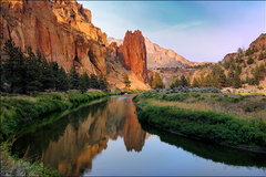 Varies/Learn More: Explore the Length of the Crooked River