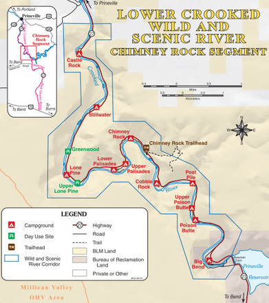 Explore the Length of the Crooked River   ShareOregon