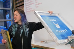 Booking (trips, etc.): Learn to Screenprint at ADX