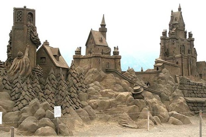 Cannon Beach Sand Castle Contest