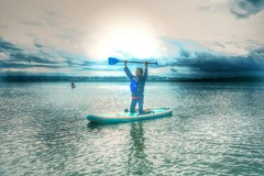 Booking (trips, etc.): Standup Paddle Lessons with h2om sup