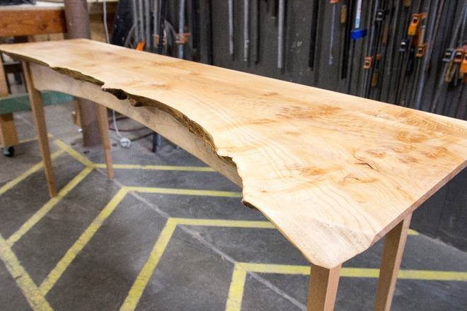 make your own liveedge shaker table