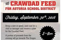 Donation: Rogue Ales Coat Drive & Crawdad Feed
