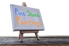 Free: Pint Sized Painting Class