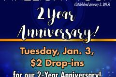 Varies: $2 Yoga Classes on 1/3/17 at Firelight Yoga!