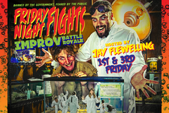 Selling: Friday Night Fights - Every 1st & 3rd Friday