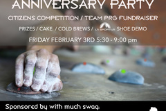 Donation: Anniversary Party and Fundraiser @ Portland Rock Gym!