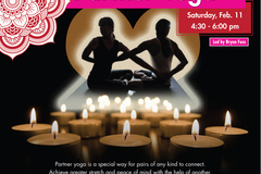 Varies: Candlelight Partner Yoga