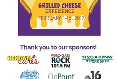 Varies: Grilled Cheese Experience- Benefit
