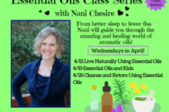 Free: FREE Class Series on Essential Oils