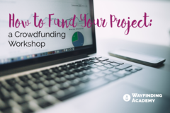 Selling: How to Fund Your Project: A Crowdfunding Lab