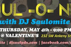 Free: Soul-O-Nite with DJ Saulomite