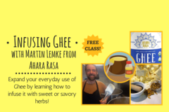 Free: Infusing Ghee with Martin Lemke