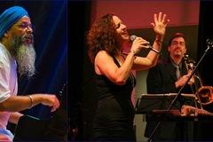 Selling: Concert: Sandy Cressman w/ Jasnam Daya Singh & Jeff Cressman