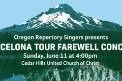 Selling: Oregon Repertory Singers: Barcelona Tour Farewell Concert
