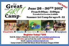 Selling: The Great Thou Art Camp! -St. Aidan's Episcopal Church