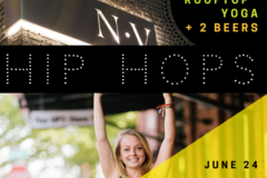 Booking (trips, etc.): Hip Hops: August Yoga & Beer Event!