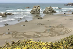 "Free: ""Circles in the Sand"": Labyrinth Experience at the Beach"
