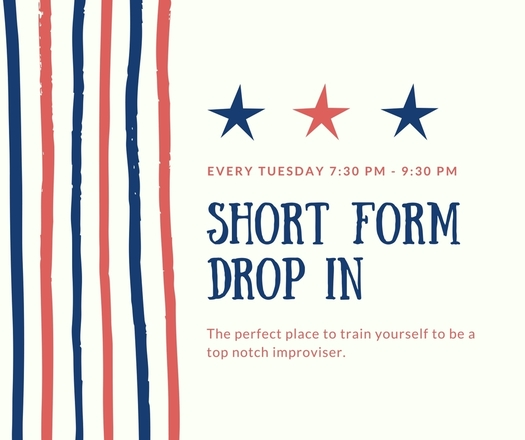 Short Form Improv Drop In - ShareOregon