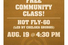 Free: Free Community Class: Firelight Yoga's Signature Hot-FLY-60
