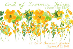 Varies: End of Summer Soirée @ Leach Botanical Garden