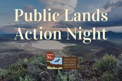 Free: Public Lands Action Night