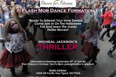 Selling: Thriller Flash Mob Formation Dance