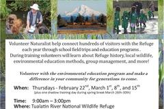 Free: Volunteer Naturalist Training