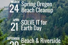 Free: SOLVE Beach & Riverside Cleanup, presented by the Oregon Lot