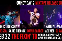 Varies/Learn More: Quincy Davis Release Show w/ Mic Crenshaw, Randal Wyatt + Mo