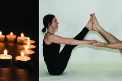 Varies/Learn More: Valentine's  Candlelight Partner Yoga