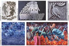 Free: Artist-in-Residence: Jo Hockenhull at Bush Barn Art Center