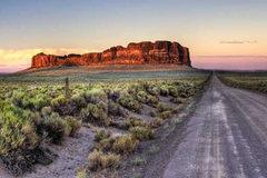 Booking (trips, etc.): High Desert Landscape Drawing: Fort Rock