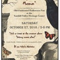 Varies/Learn More: A Night At The Museum - Halloween Tours