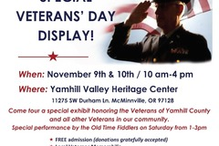 Free: Veterans' Day Special Exhibits