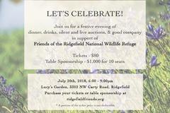 Donation: Friends of Ridgefield National Wildlife Refuge Fundraiser