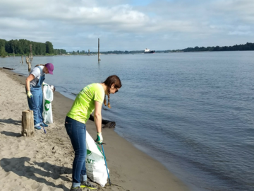 Free: Join SOLVE at the Beach & Riverside Cleanup