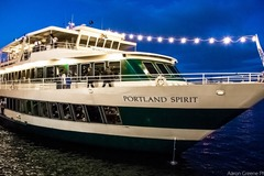 Booking (trips, stays, etc.): Sunset Dinner Cruise on the Portland Spirit