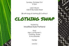 Donation: Modify Style Clothing Swap